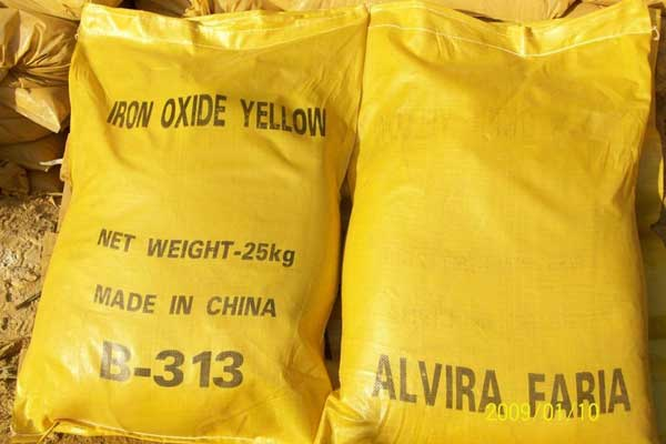 Chemate Iron Oxide Yellow Pigment