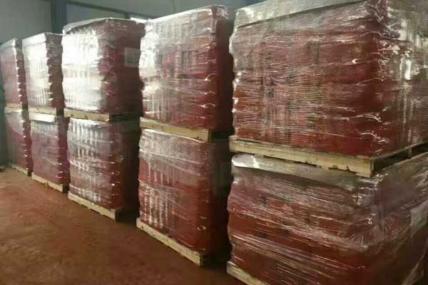 Iron Oxide Red Pigment Pallet