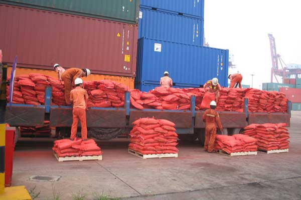 Red Iron Oxide Pigment Transportation
