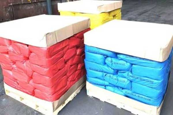 Blue Red Yellow Iron Oxide Pigment