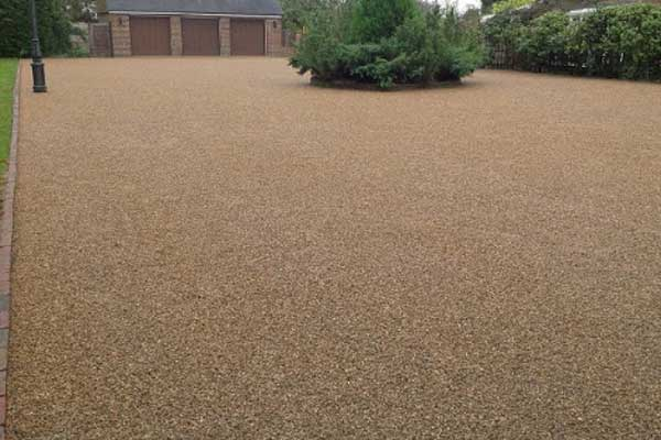 Brown Rubber Floor Adhered