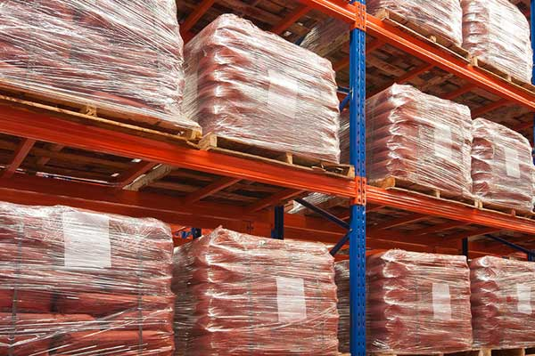 Red Iron Oxide in Storage