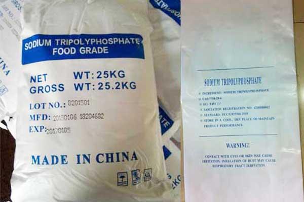 Food Grade Sodium Tripolyphosphate 25kgs Package