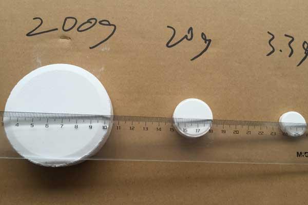 200g/20g/3.3g Trichloroisocyanuric Acid Tablets